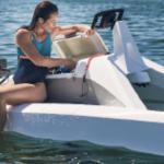 coffre catamaran électrique à foil overboat foiler