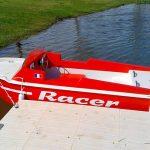 bateau racer enfant électrique