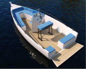 E-KONE, chantier Bagou boats