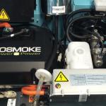 le moteur de la Mini Moke électrique