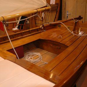 detail cockpit canot à voile ILLUR