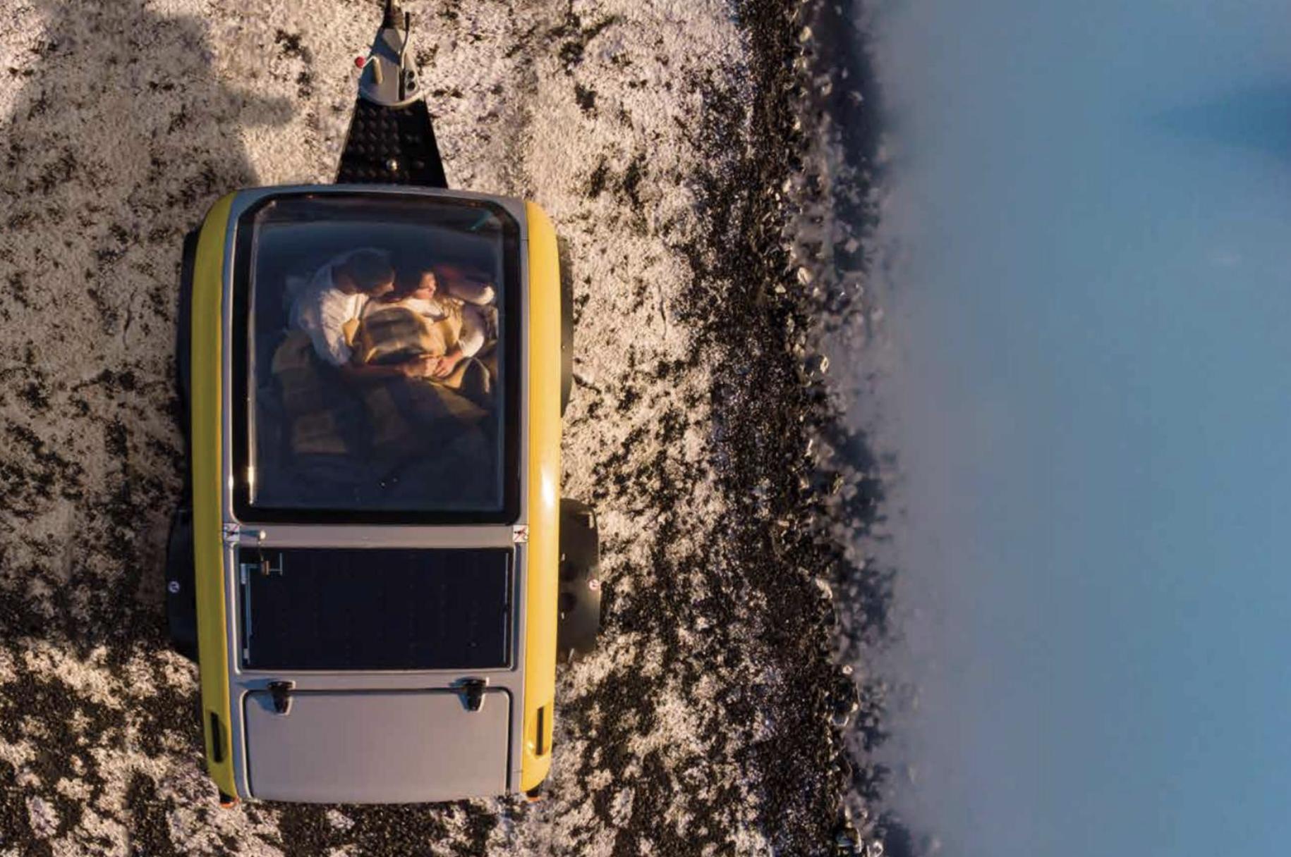 le toit panoramique Mink Campers
