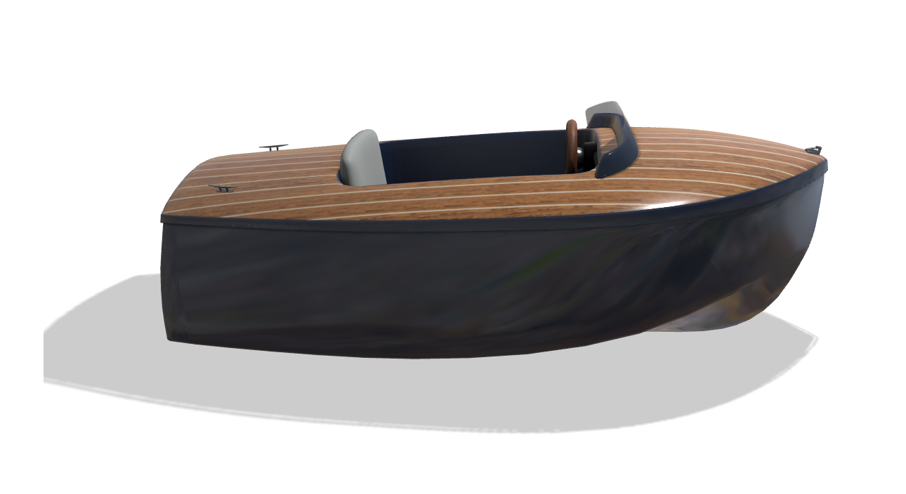 Runabout Dandy vue tribord