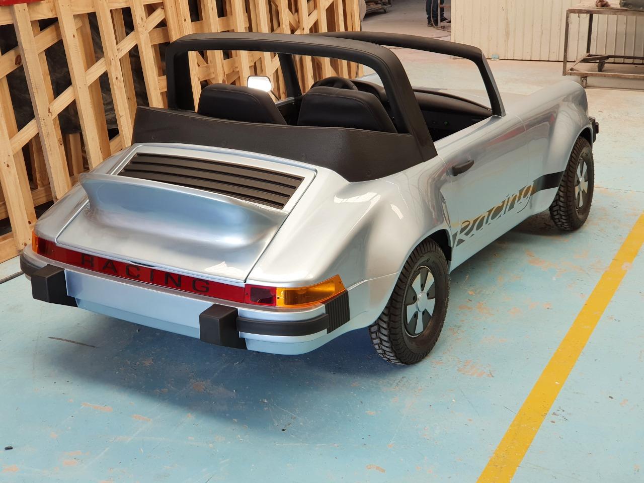 Porsche 911 blc 3/4 arrière