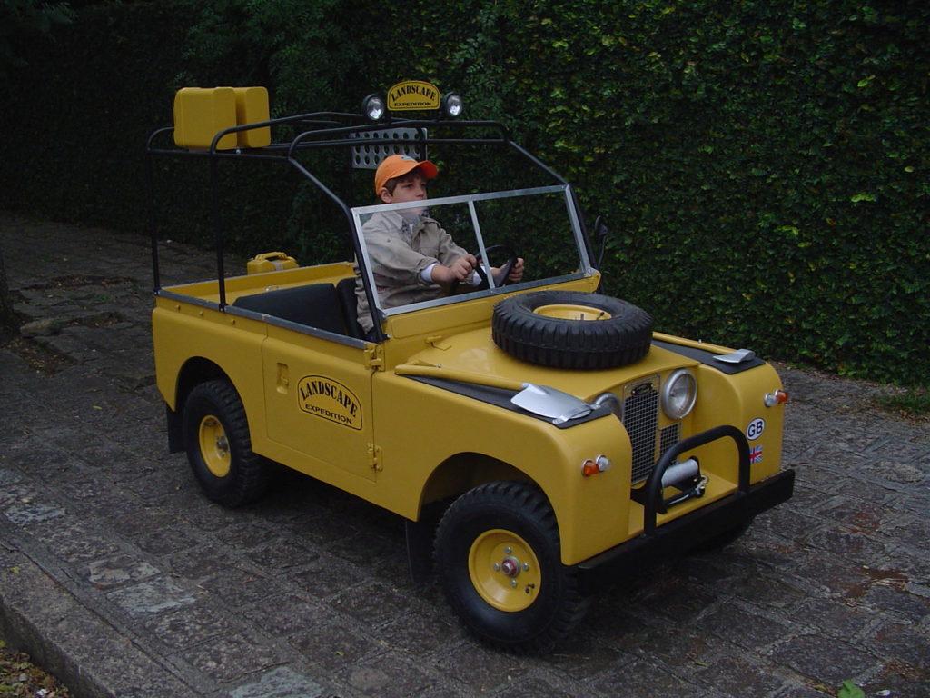blc land rover boy jaune b Expedition