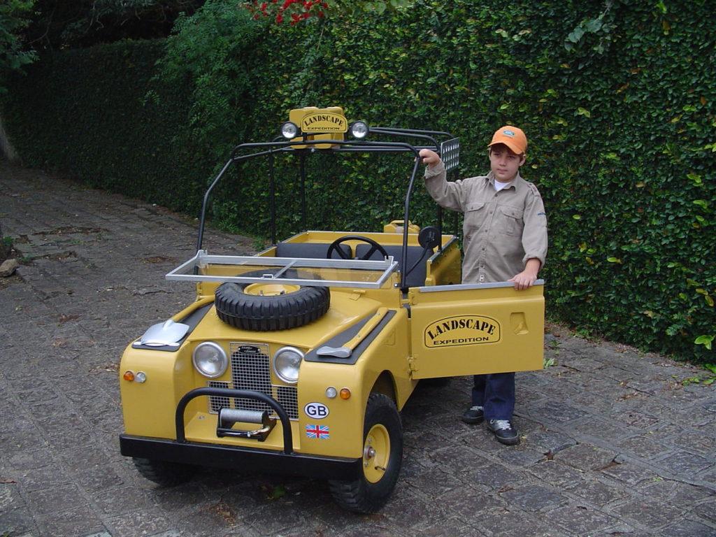 blc land rover boy jaune Expedition