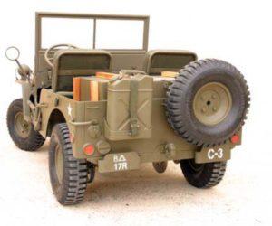 jeep blc willys arrière