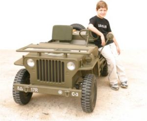 jeep blc willys face boy