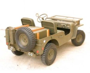 jeep blc willys 3/4 ar