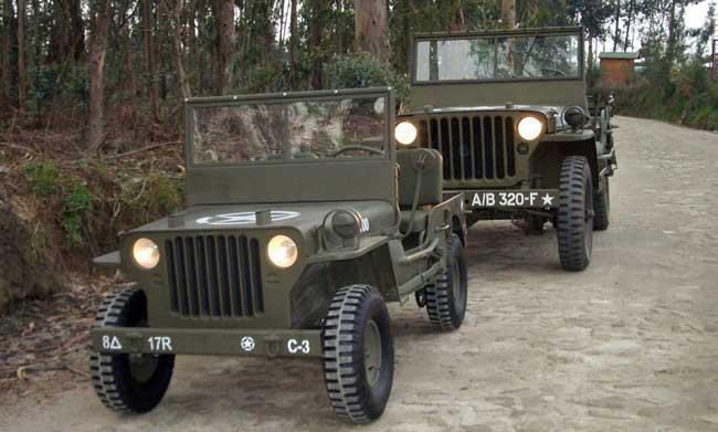 jeep blc willys avec la vraie