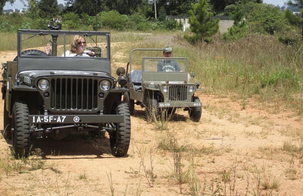 jeep mb BLC en duo