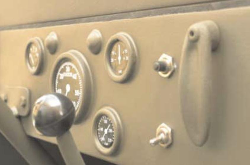 jeep mb BLC tableau de bord
