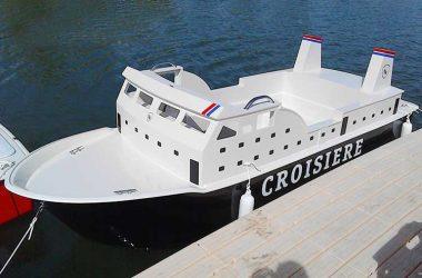 Le bateau paquebot electrique pour enfant
